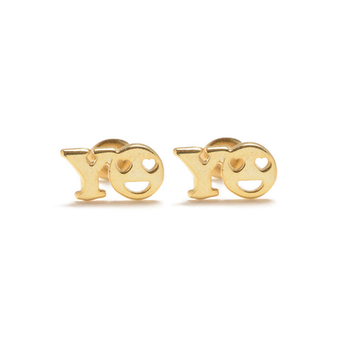 YO Studs - Bing Bang Jewelry NYC