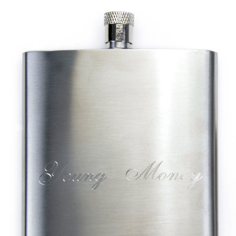 Hand Engraved Flasks - Bing Bang Jewelry NYC
