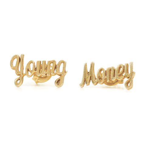 Young Money Studs - Bing Bang Jewelry NYC