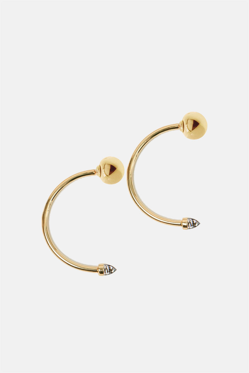 Zenith Hoop Earrings - Bing Bang Jewelry NYC