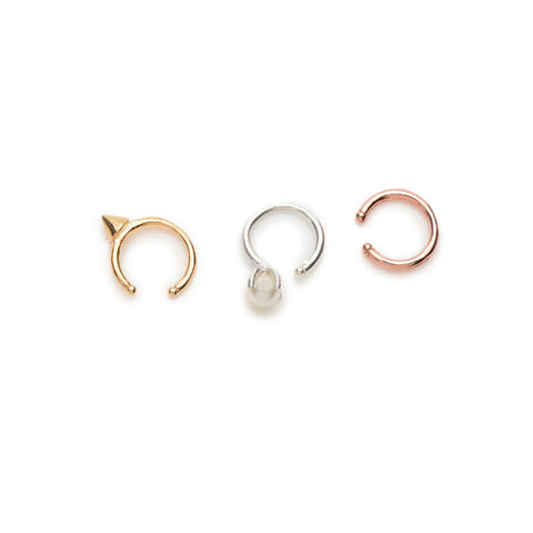 Ear Cuff Trio - Bing Bang Jewelry NYC