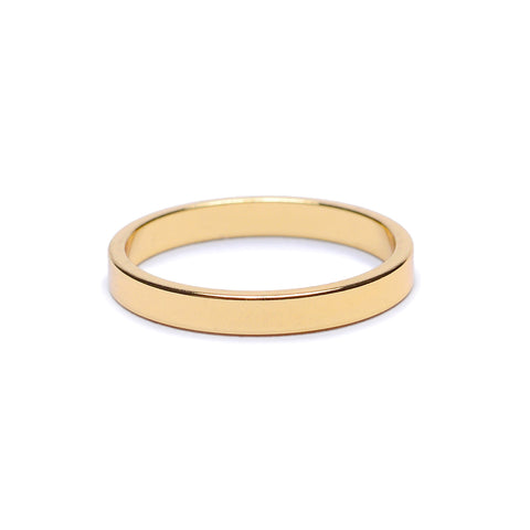 Minimal Flat Band - Slim - Bing Bang Jewelry NYC