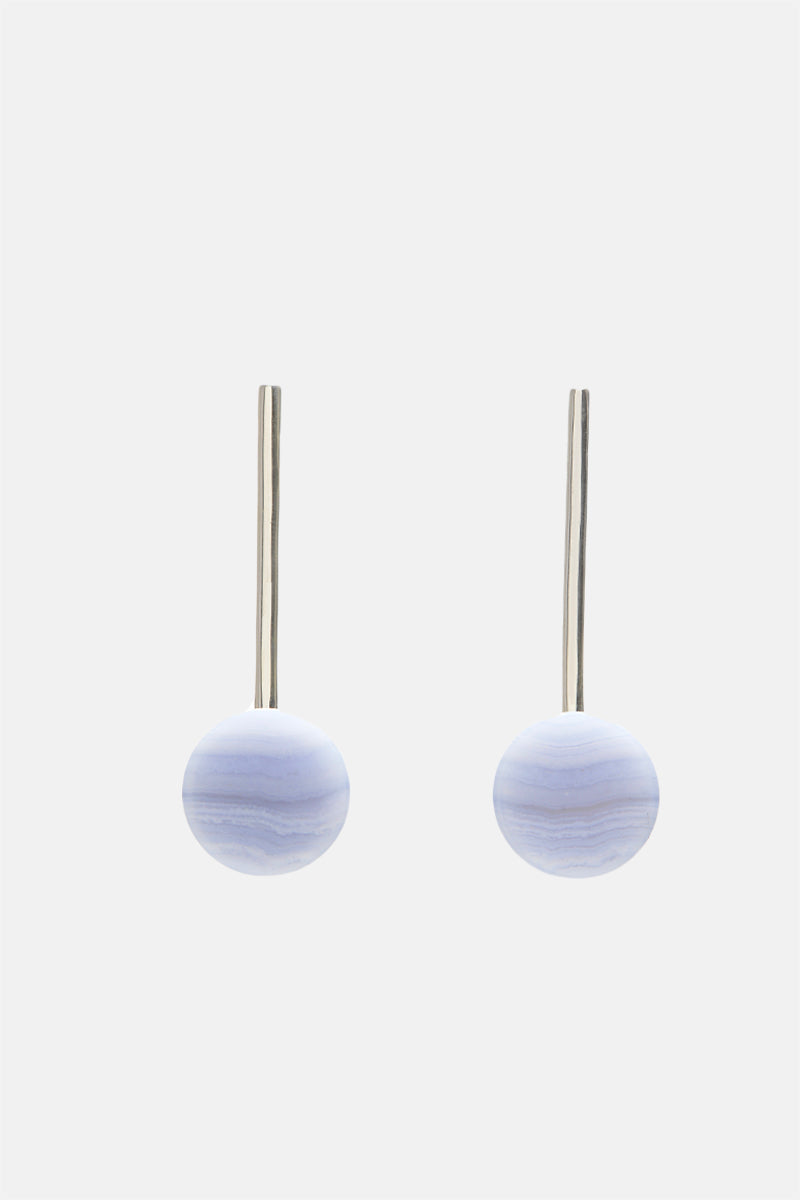 Hemisphere Drop Earrings - Bing Bang Jewelry NYC