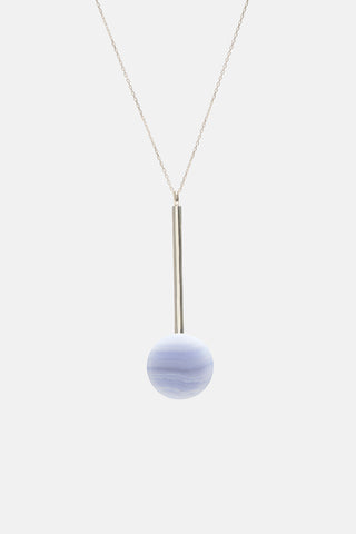Hemisphere Drop Necklace - Bing Bang Jewelry NYC