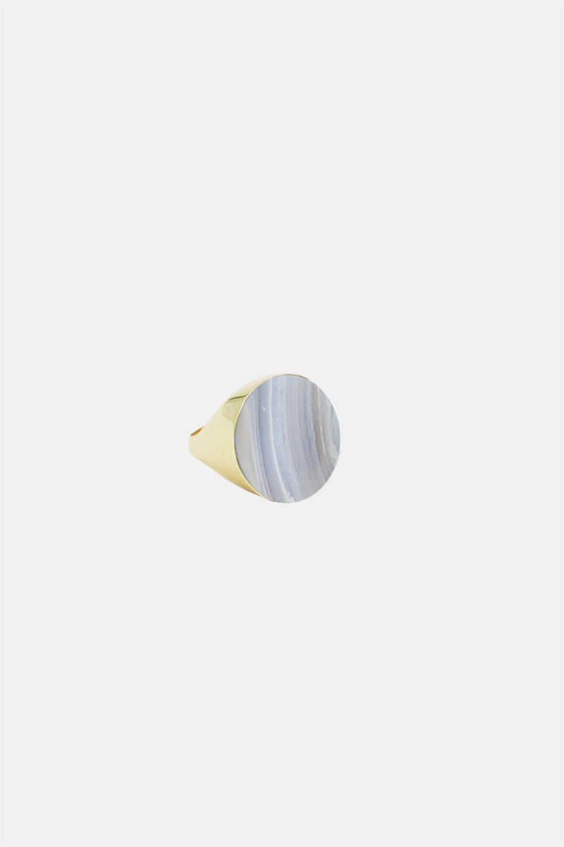 Lune Signet Ring - Bing Bang Jewelry NYC
