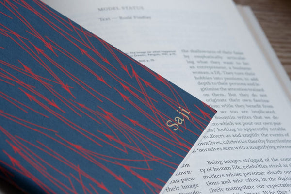 Taku — Hand-printed Editioned Art Notebook