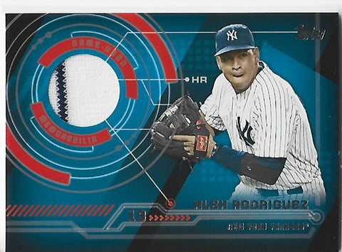Alex Rodriguez 2014 Topps #TR-AR Game-Used Memorabilia Card