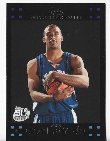 Mike Conley 2007-08 Topps #114 Rookie Card