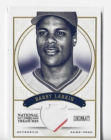 Barry Larkin 2012 Panini #118 (22/49) National Treasures Card