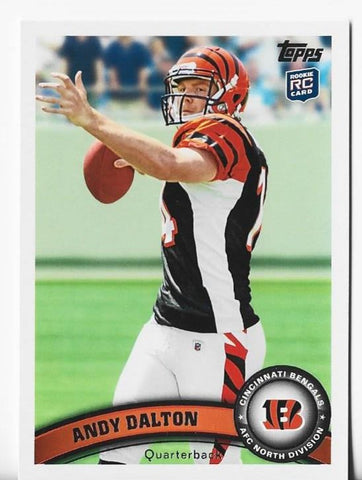 Andy Dalton 2011 Topps #70 Rookie Card