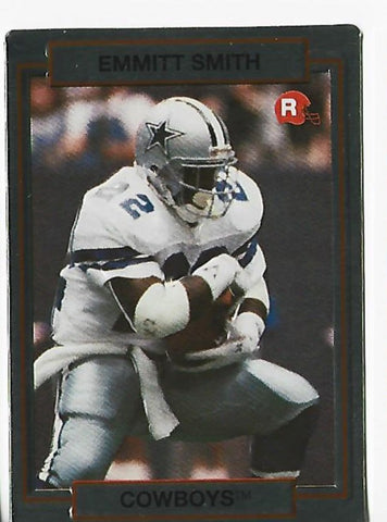 Emmitt Smith 1990 Action Packed #34 Rookie Card