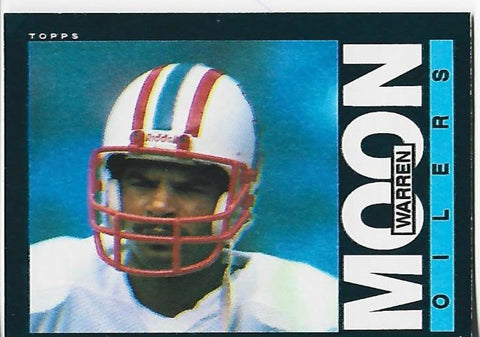 Warren Moon 1985 Topps #251 Rookie Card