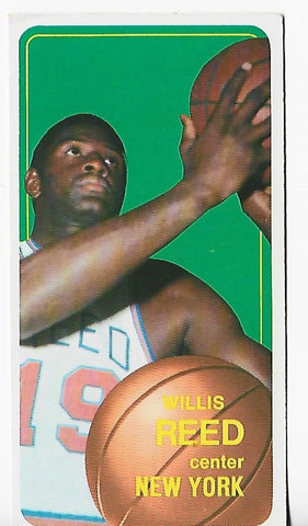 Willis Reed 1970-1971 Topps #150 Near Mint Card