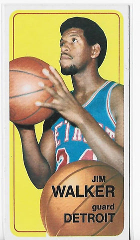 Jim Walker 1970-1971 Topps #25 Near Mint Card