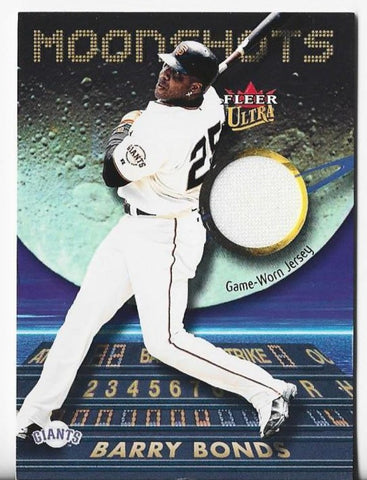 Barry Bonds 2003 Fleer Ultra Game-Worn Jersey Card