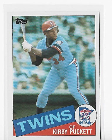 Kirby Puckett 1985 Topps #536 Card