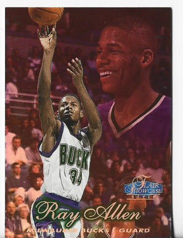 Ray Allen 1997-98 Fleer Rookie Card