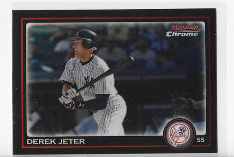 Derek Jeter 2006 Bowman Chrome #147 Card