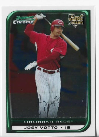 Joey Votto #194 Bowman Chrome Autograph Rookie Card