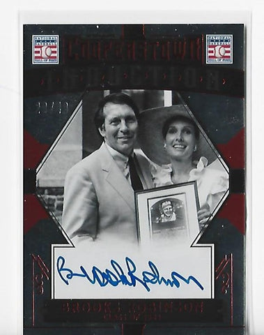 Brooks Robinson 2015 Panini Cooperstown Induction #7 (20/49) Autograph Card