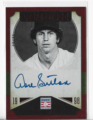 Don Sutton 2015 Panini Cooperstown #14 (08/49) Autograph Card