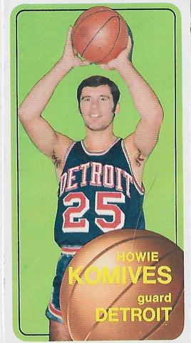 Howard Komives 1970-1971 #42 Card