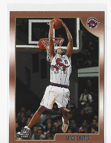 Vince Carter 1999 Topps #199 Rookie Card