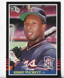Kirby Puckett 1985 Donruss #438 Rookie Card