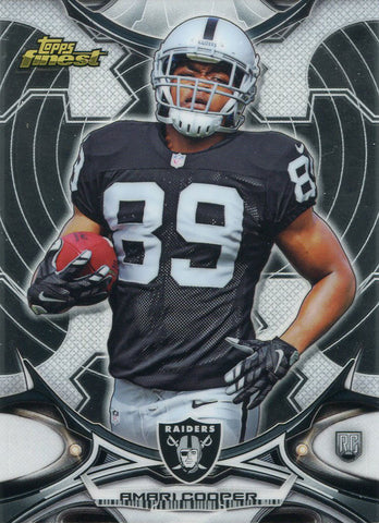 Amari Cooper Unsigned 2015 Topps Finest Rookie Card