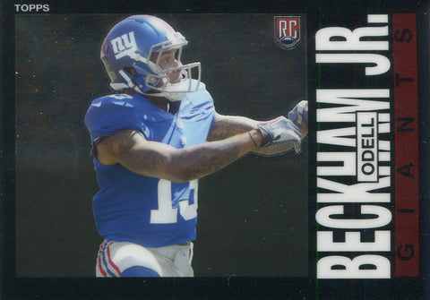 Odell Beckham Jr. Unsigned 2014 Topps Rookie Card
