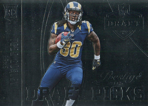 Todd Gurley Unsigned 2015 Panini Prestige Draft Picks Rookie Card