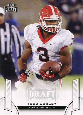 Todd Gurley Unsigned 2015 Leaf Draft Card