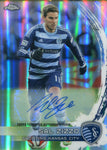 Sal Zizzo Autographed 2014 Topps Power Ranking Chrome Card