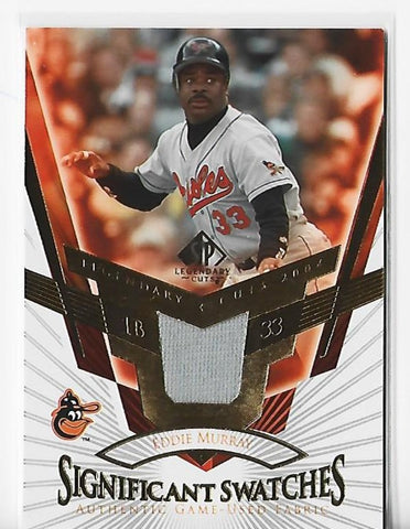 Eddie Murray 2004 Upper Deck Significant Swatches #SS-EM Game-Used Card