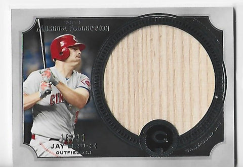 Jay Bruce 2013 Topps Museum Collection #MMJLR-JBR Jumbo Lumber Relic Card