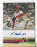 Johnny Cueto 2008 Topps #158 Autograph Card