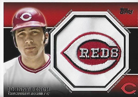 Copy of Johnny Bench 2013 Topps Commemorative MVP Trophy Card