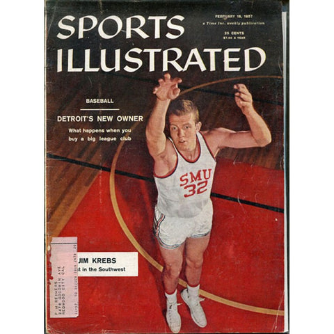 Jim Krebs February 18 1957 Sports Illustrated Magazine