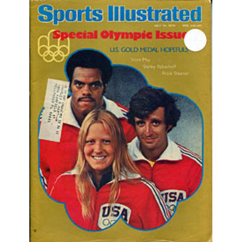 May, Babashoff & Shorter 1976 Sports Illustrated