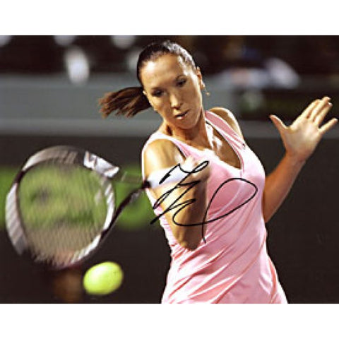 Jelena Jankovic Autographed / Signed Hitting the Ball 8x10 Photo