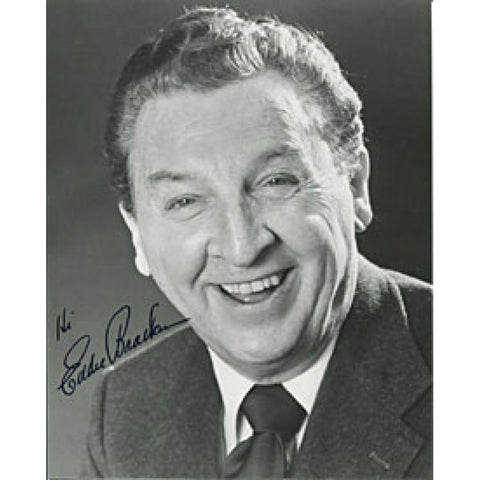 Eddie Bracken Autographed/Signed 8x10 Photo
