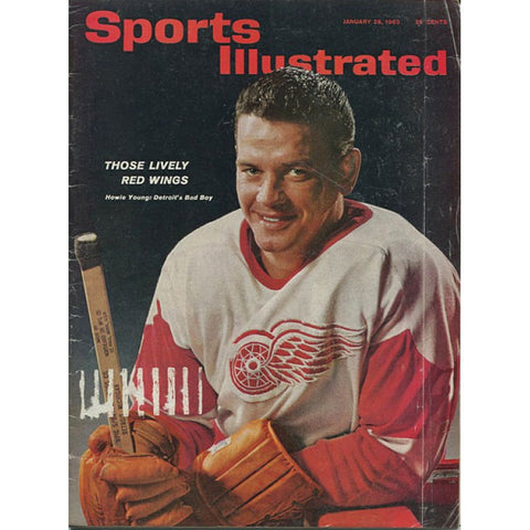 Howie Young 1963 Sports Illustrated Magazine