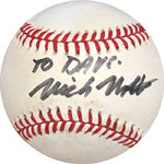 Nick Nolte Autographed / Signed Baseball