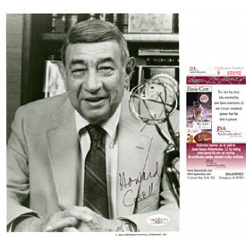 Howard Cosell Autographed / Signed 8x10 Photo (James Spence)