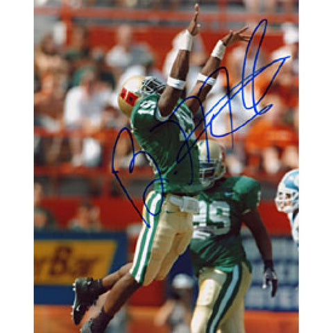Brandon Meriweather Autographed / Signed Miami Hurricanes College Football 8x10 Photo