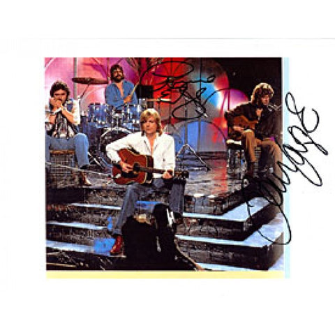 Graham Lodge / John Lodge Autographed / Signed Moody Blues Celebrity 9x11 Photo