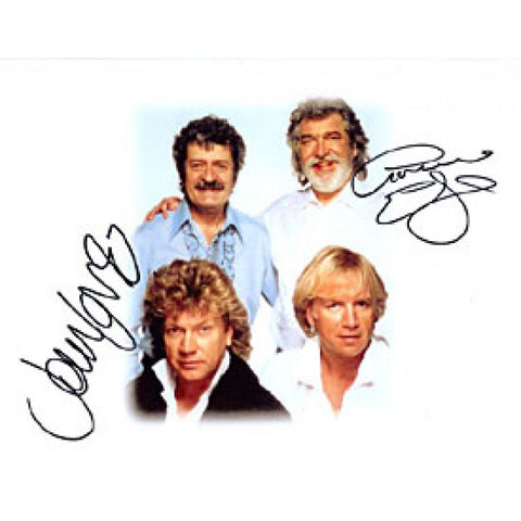 Moody Blues Autographed / Signed Celebrity 9x11 Photo