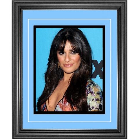 Lea Michelle Framed 8x10 Photo