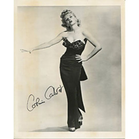 Corinne Calvet  Autographed/Signed 8x10 Photo