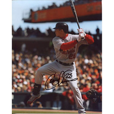 Colby Rasmus Autographed / Signed St. Louis Cardinals 8x10 Photo